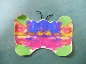 Starlights learning about the life cycle of a butterfly. The Children made their own butterflies.